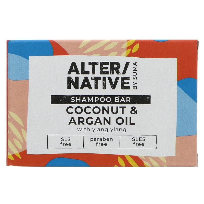 Alter/native By Suma Shampoo Bar - Coconut & Argan Oil - 90g