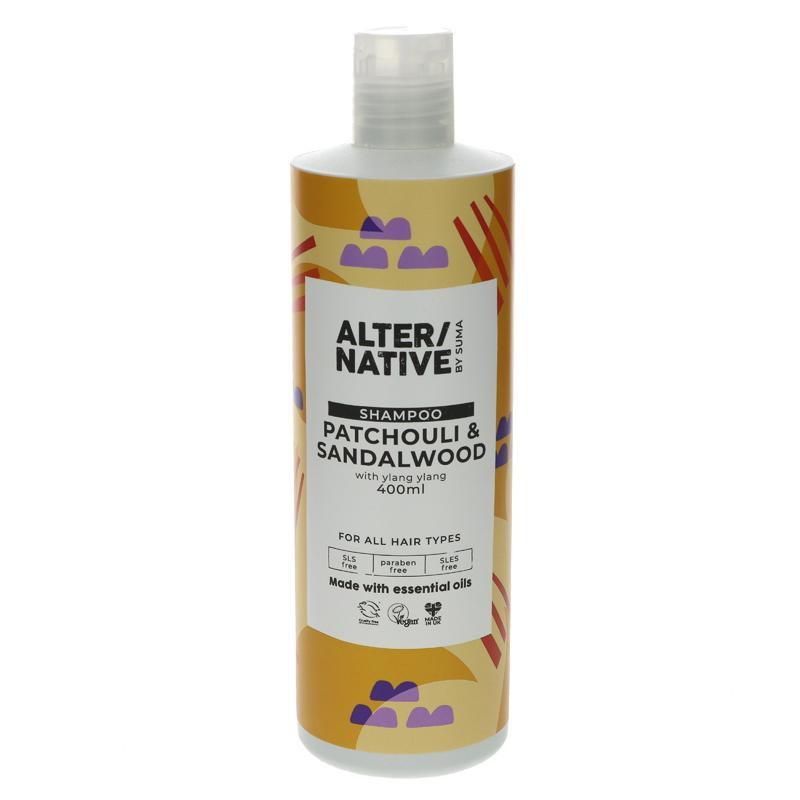 Alter/native By Suma Patchouli & Sandalwood Shampoo 400ml