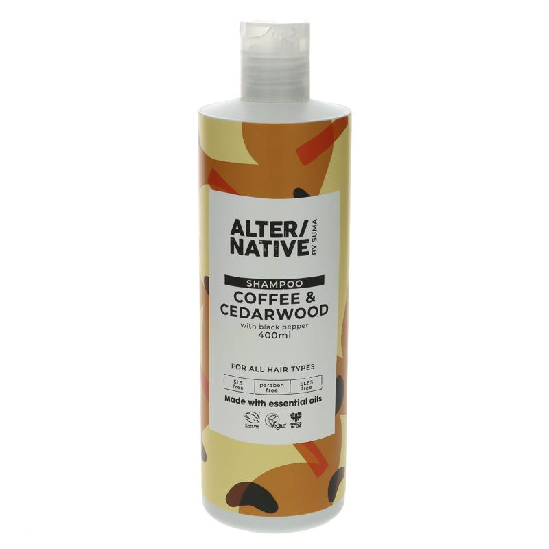 Alter/native By Suma Coffee & Cedarwood Shampoo 400ml