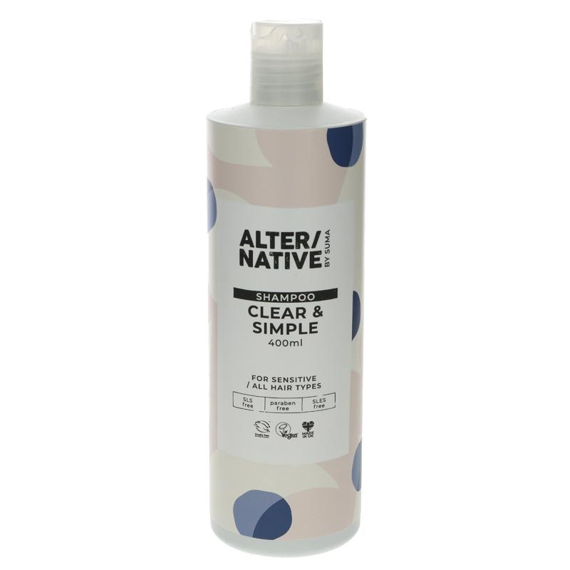 Alter/native By Suma Clear & Simple Shampoo 400ml