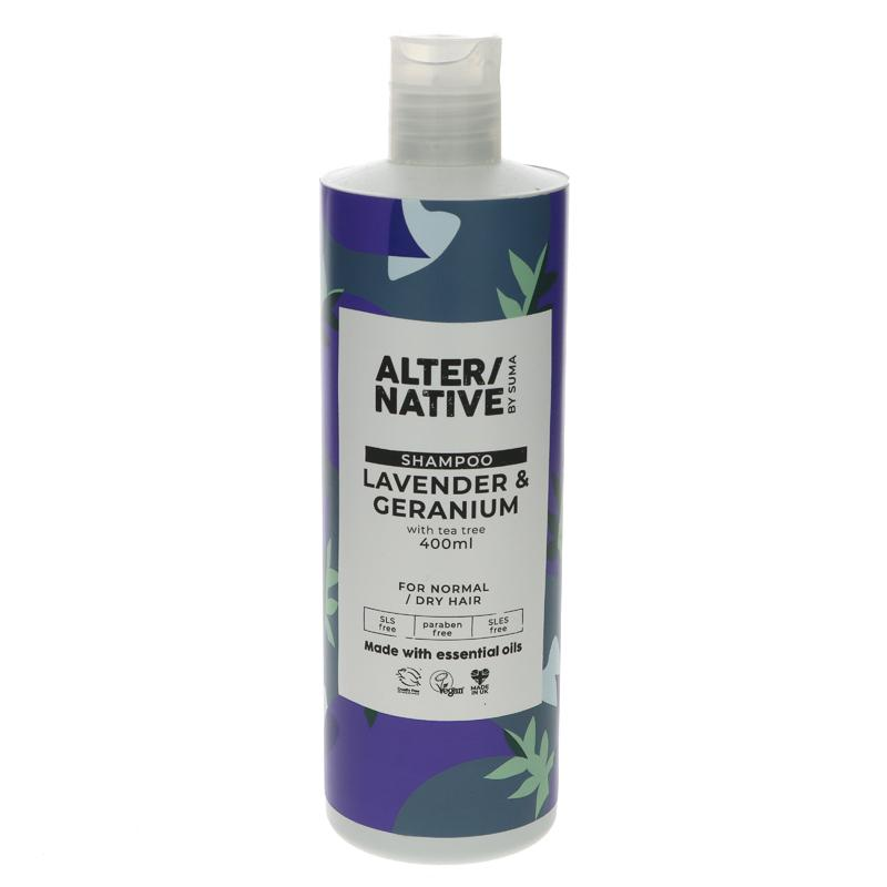 Alter/native By Suma Lavender & Geranium Shampoo 400ml