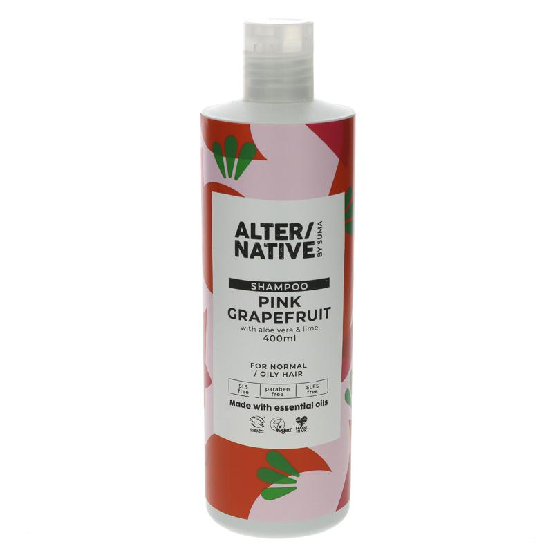 Alter/native By Suma Pink Grapefruit Shampoo 400ml