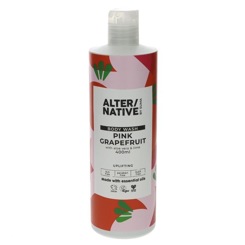 Alter/native By Suma Pink Grapefruit Body Wash 400ml