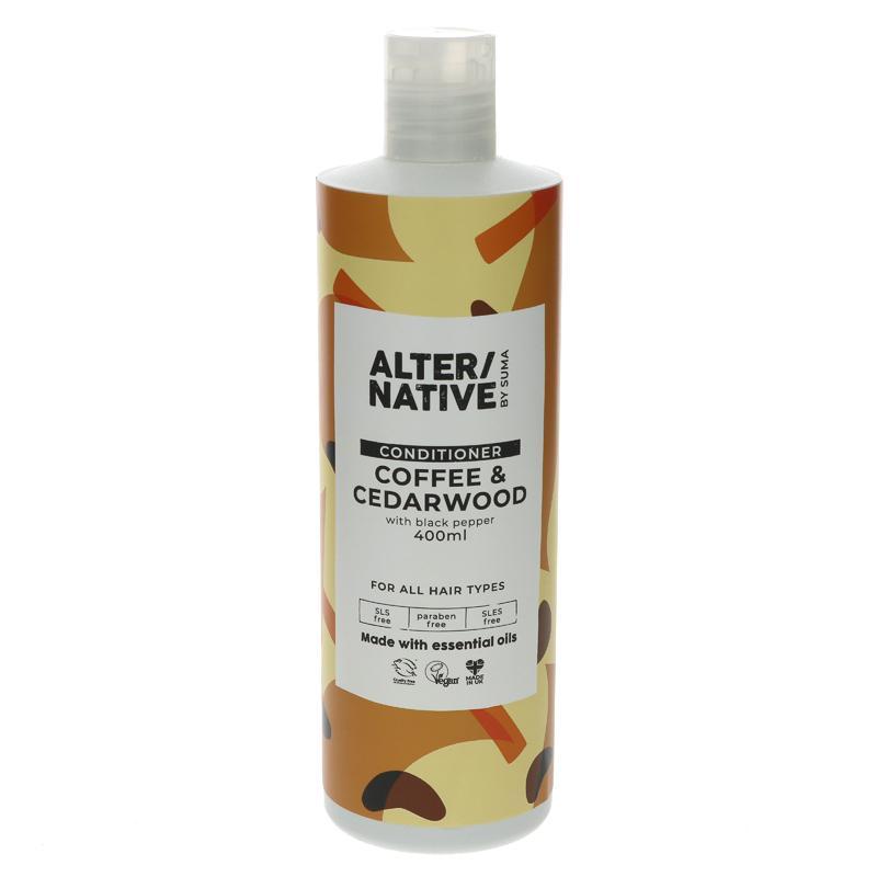 Alter/native By Suma Coffee Cedarwood Conditioner 400ml