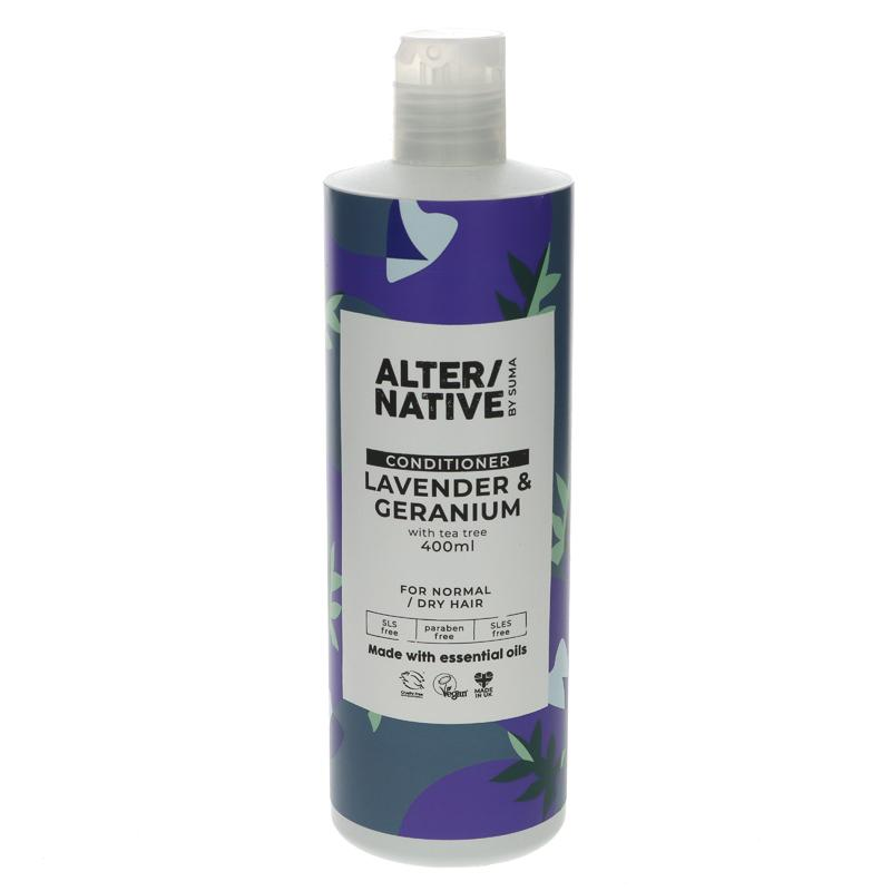 Alter/native By Suma Lavender & Geranium Conditioner 400ml