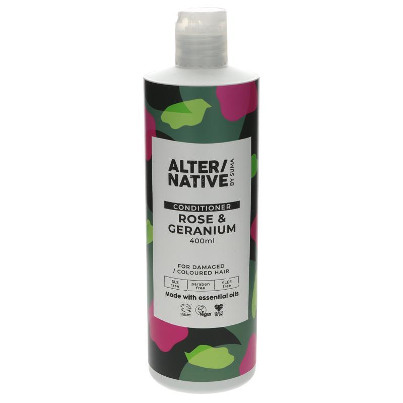 Alter/native By Suma Rose & Geranium Conditioner 400ml