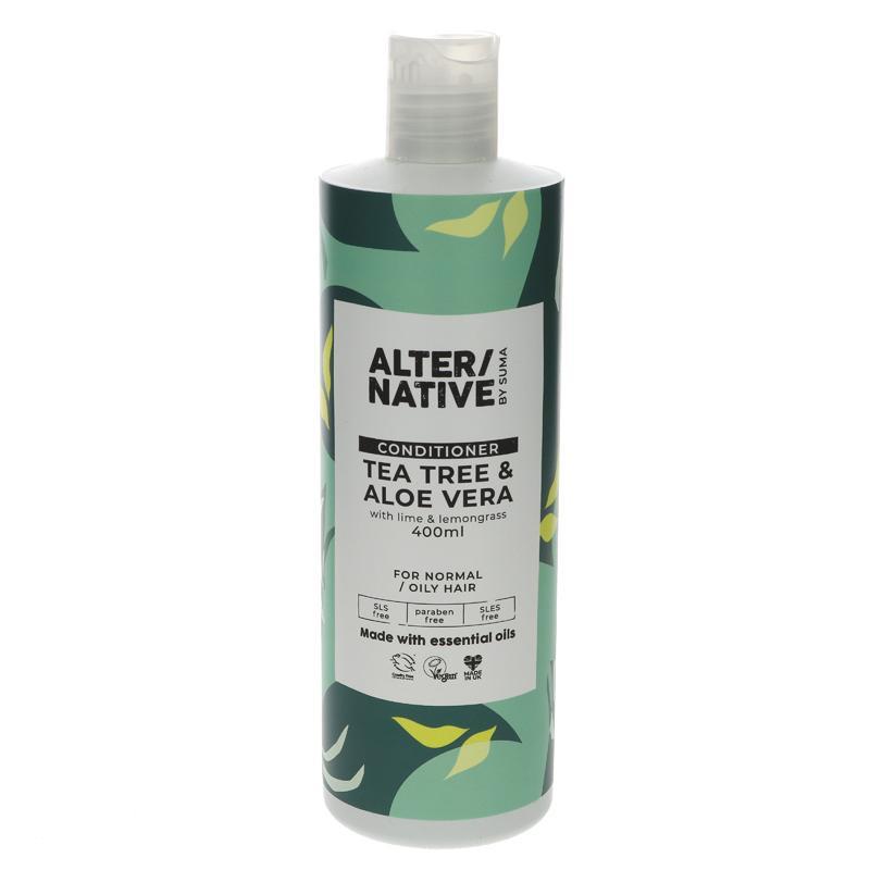 Alter/native By Suma Tea Tree & Aloe Vera Conditioner 400ml
