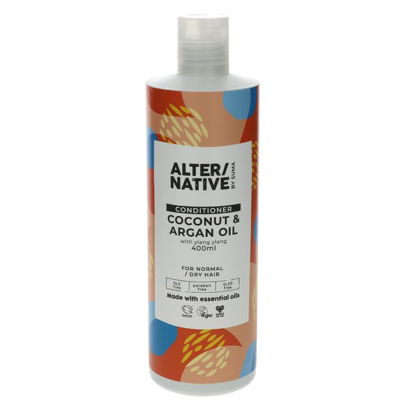 Alter/native By Suma Coconut & Argan Oil Conditioner 400ml