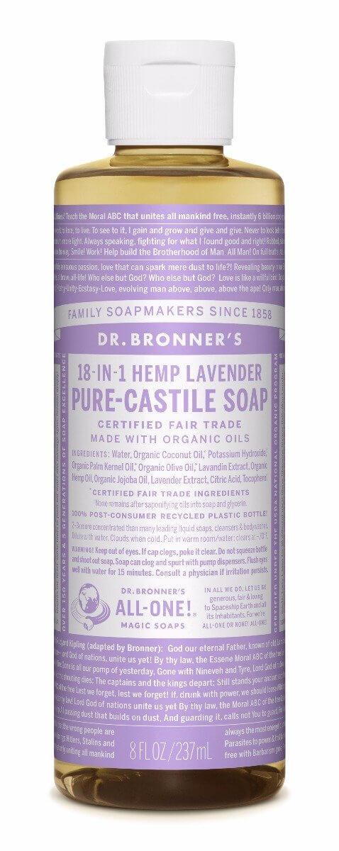 Dr. bronner Lavendel såpe 240 ml