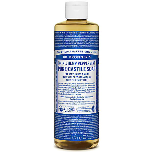 Dr. Bronner Peppermintsåpe 475ml