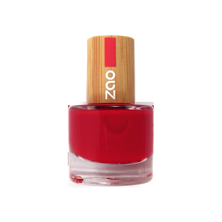 ZAO Nailpolish 650 Red - 8ml
