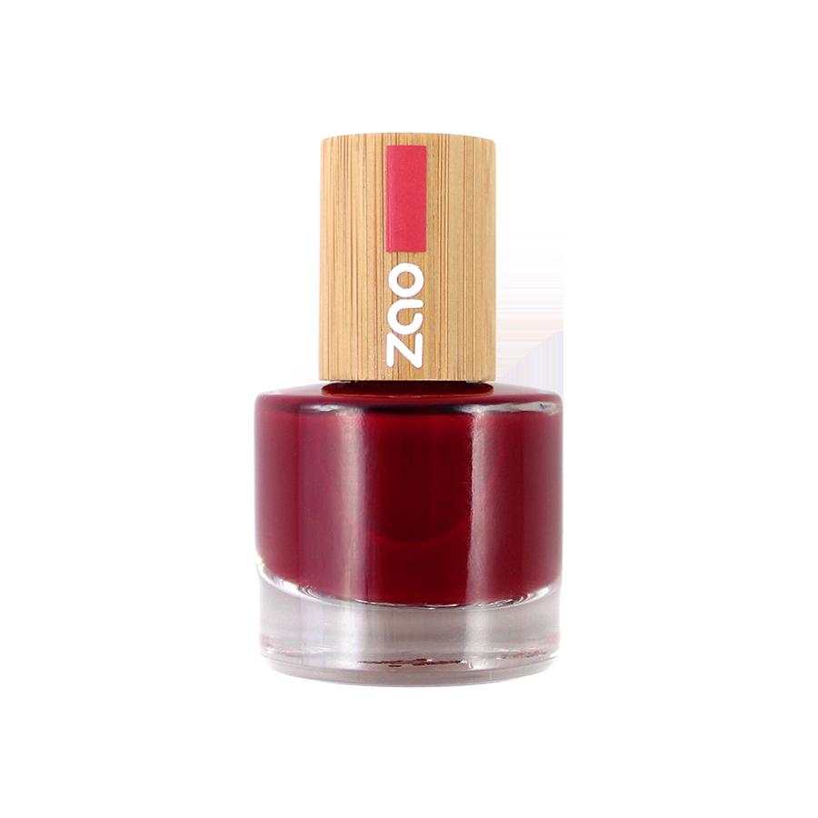 ZAO Nailpolish 668 Passion red - 8ml