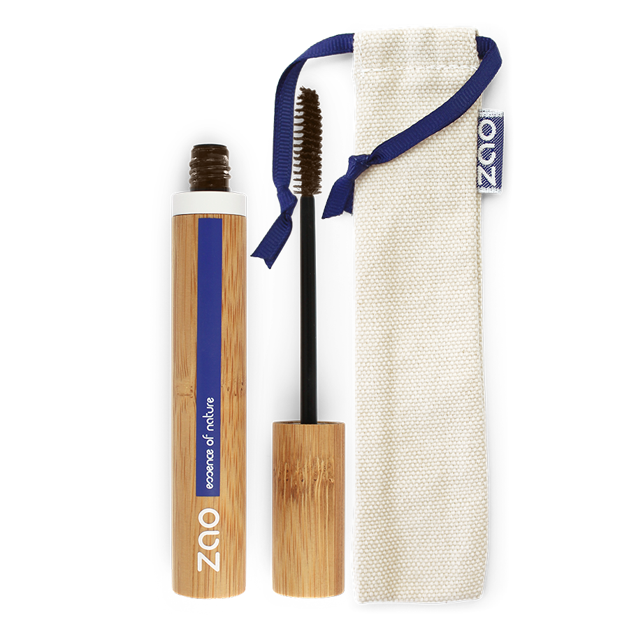 ZAO Mascara Aloe Vera 091 Dark Brown (ny formel)