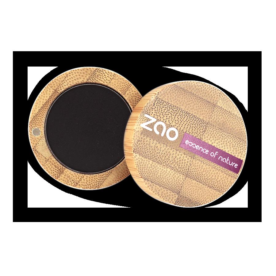 ZAO Matt Eye Shadow & Eyeliner cake 206 Black - 3g