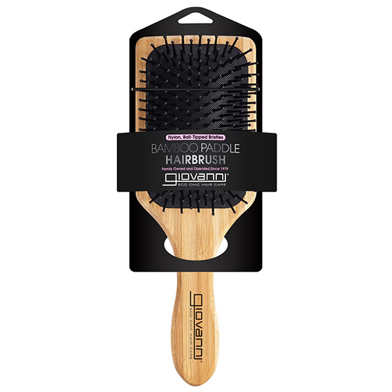 Giovanni Bamboo Paddle Hair Brush