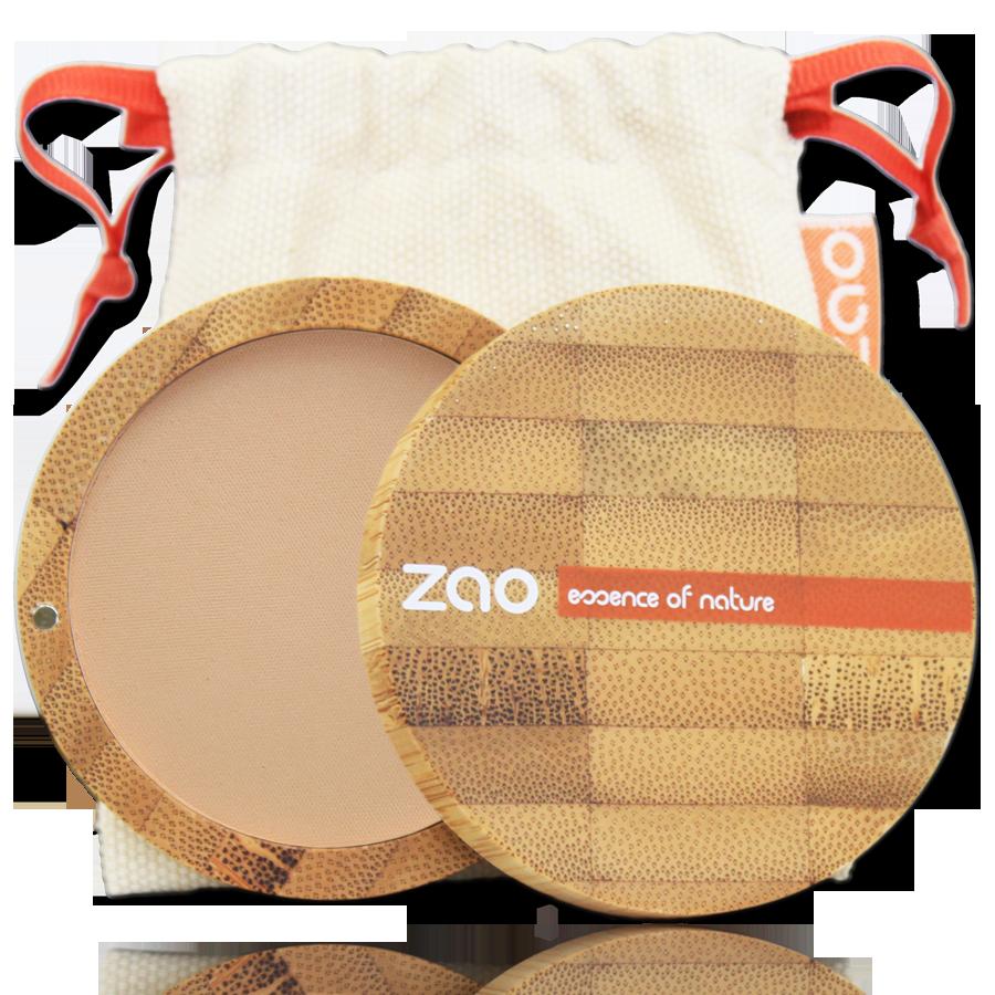 ZAO Compact Powder 303 Brown Beige - 9g