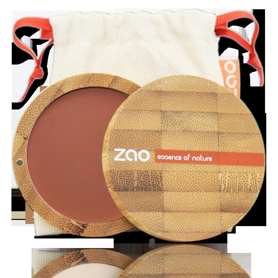 ZAO Compact Blush 321 Brown Orange - 9g