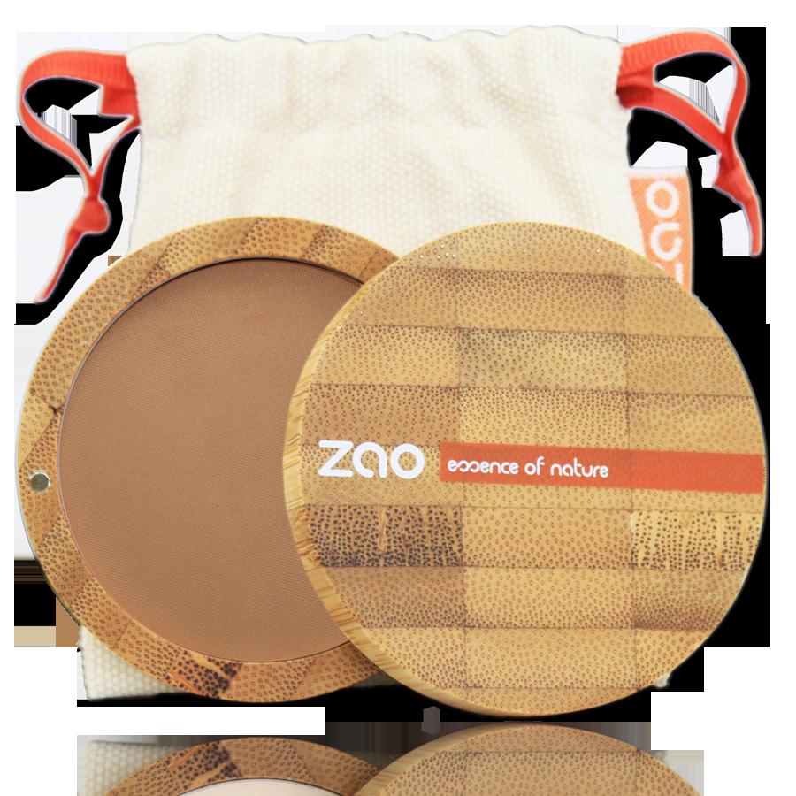 ZAO Compact Powder 305 Milk Chocolate - 9g