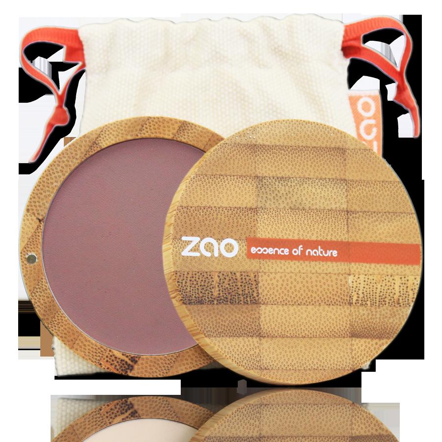 ZAO Compact Blush 323 Dark Purple - 9g
