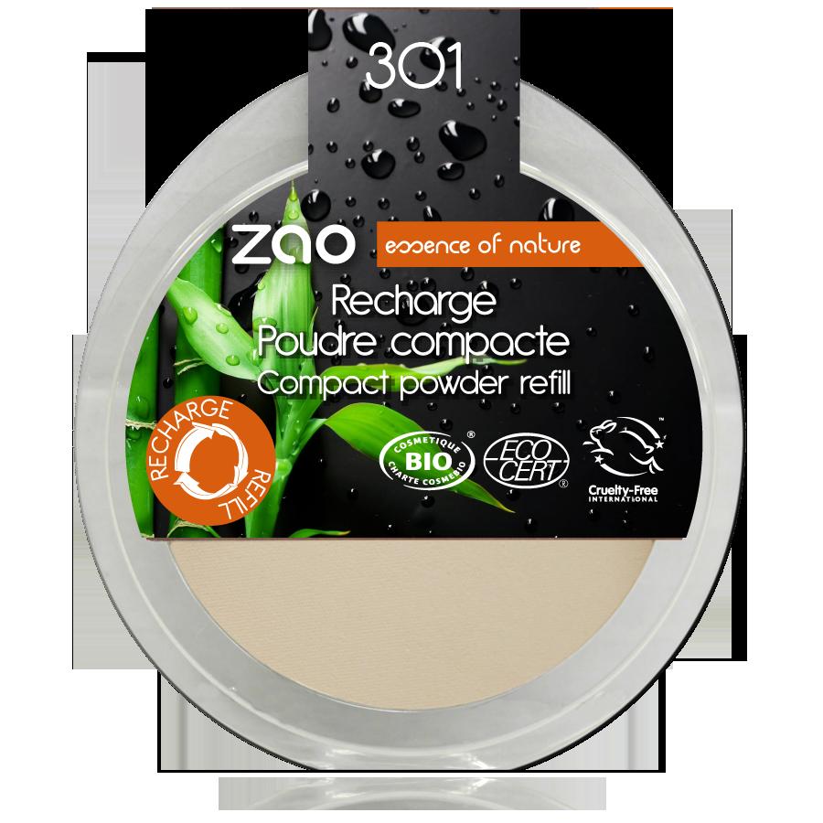 ZAO Refill Compact Powder 301 Ivory - 9g