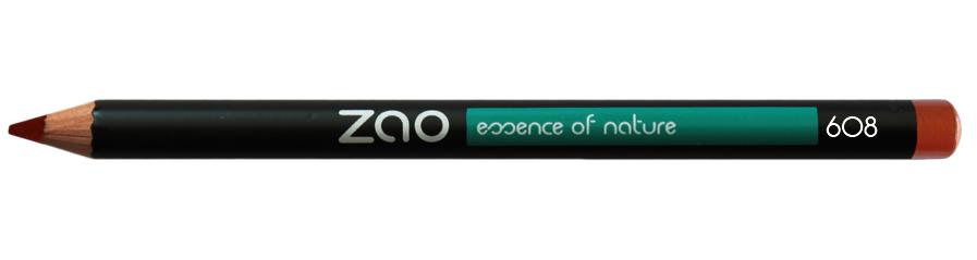 ZAO Pencil Multipurpose Liner 608 Orange Brown