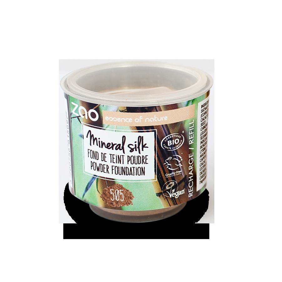 ZAO Refill Mineral Silk 505 Coffe Beige