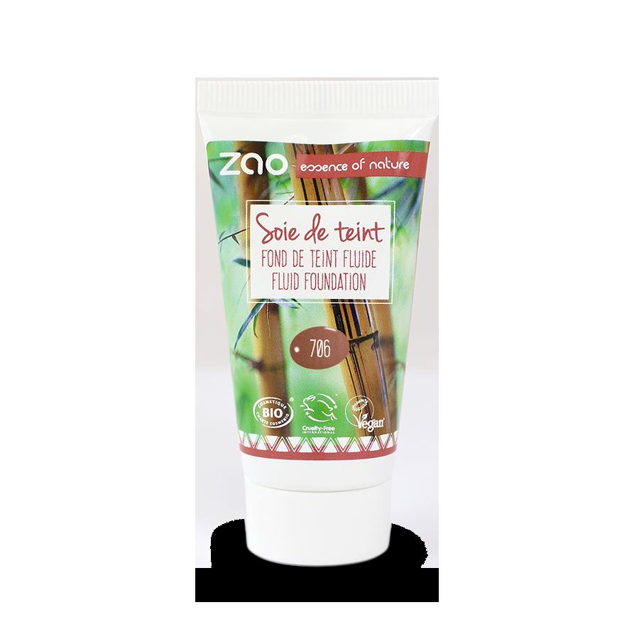 ZAO Refill Silk Foundation 706 Chocolate - 30ml