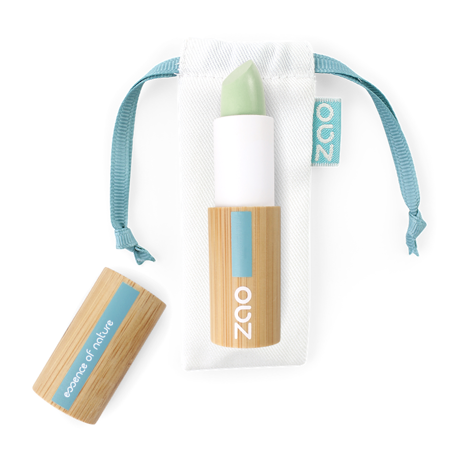 ZAO Vegan Concealer Stick 499 Green anti red patches