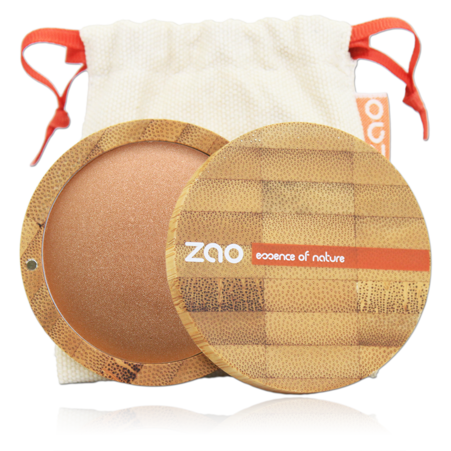 ZAO Mineral Cooked Bronzer 341 Golden Copper