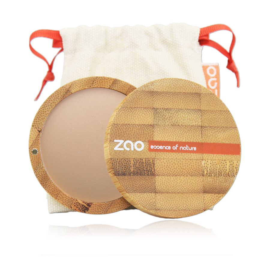 ZAO Mineral Cooked Bronzer 346 Mattifying Bright Complexion