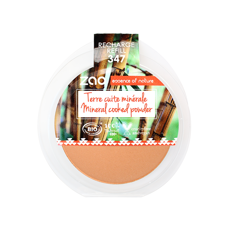 ZAO Refill Mineral Cooked Bronzer 347 Natural glow
