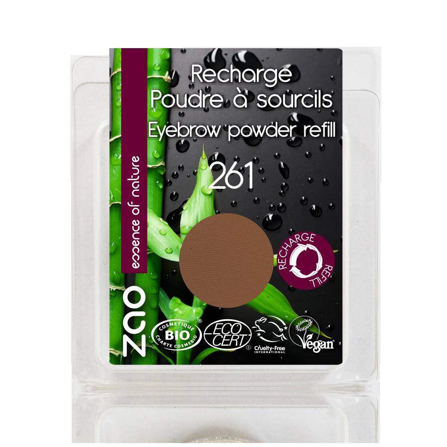 ZAO Refill Eyebrow Powder 261 Ash Blond