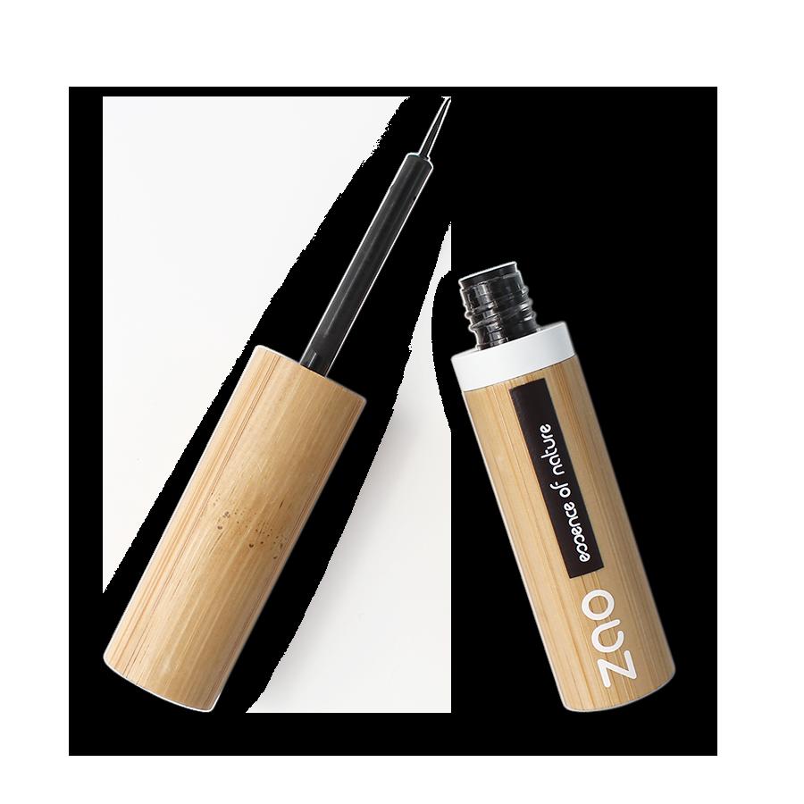 ZAO Liquid Eyeliner Brush 070 Intense Black