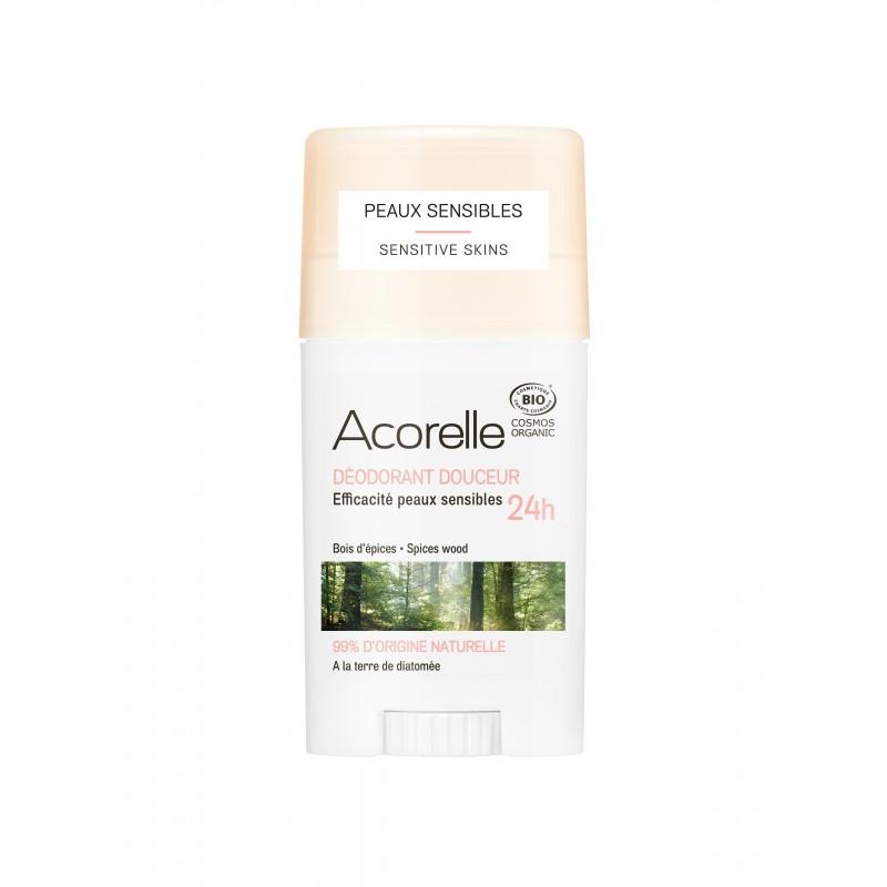 Acorelle Gentle Wood Spice Deodorant 45g