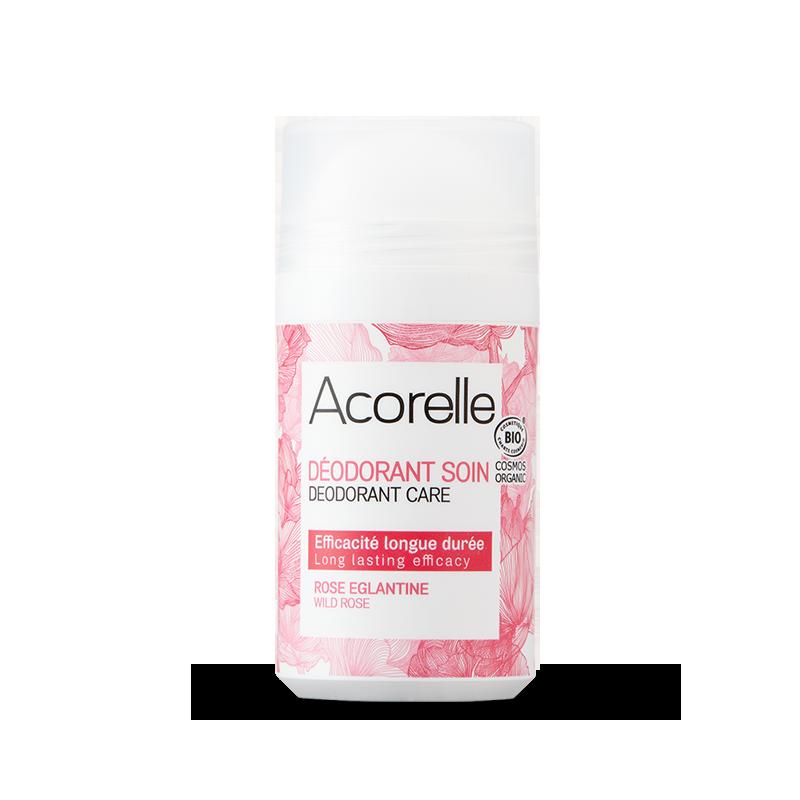 Acorelle Long Lasting Roll On Deodorant Wild Rose 50ml