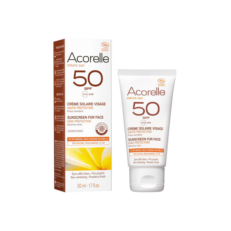 Acorelle Sun Face Cream spf 50 - 50ml