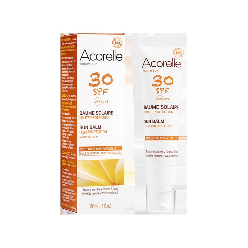 Acorelle Sun Face Balm SPF 30 - 30ml
