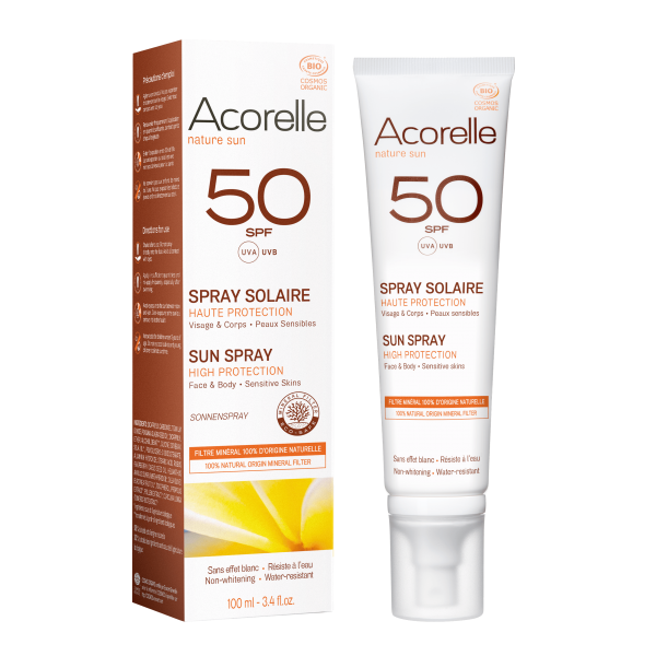 Acorelle Sun Spray SPF 50 - 100ml