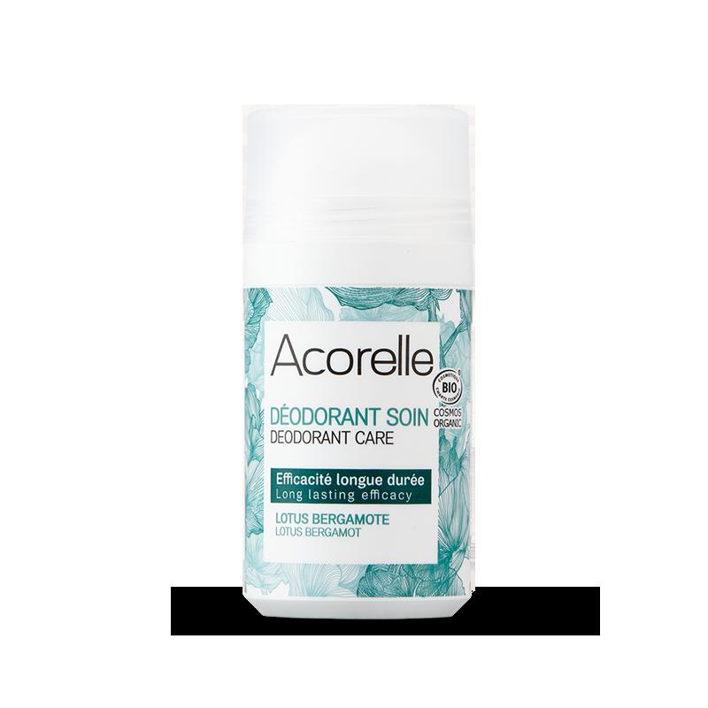 Acorelle Long Lasting Roll On Deodorant Lotus Bergamot 50ml