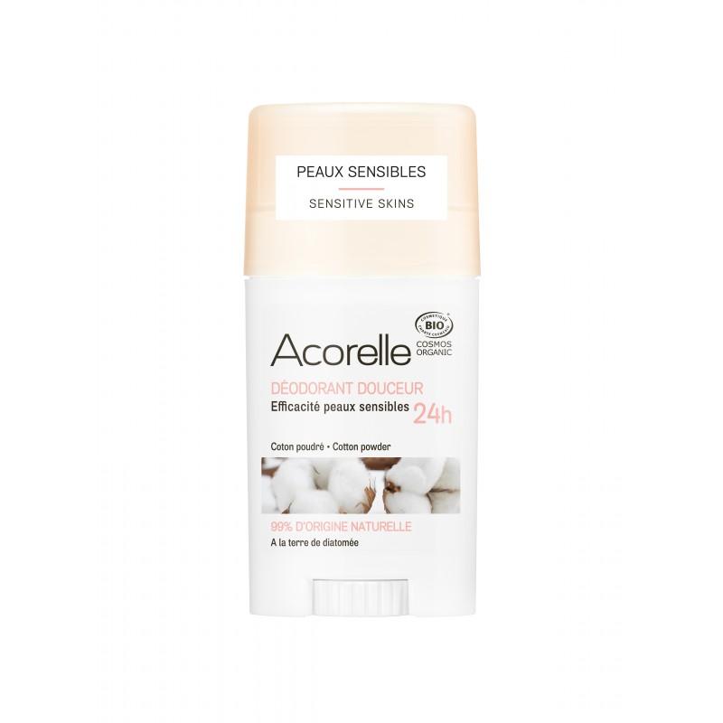 Acorelle Gentle Cotton Powder Deodorant 45g