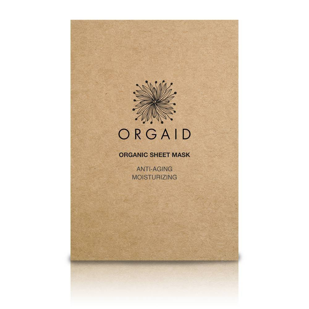 ORGAID Anti-Aging & Moisturizing Organic Sheet Mask (1 stk,)