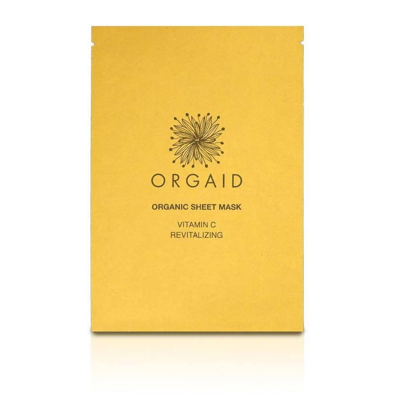 ORGAID Vitamin C & Revitalizing Organic Sheet Mask (1 stk,)