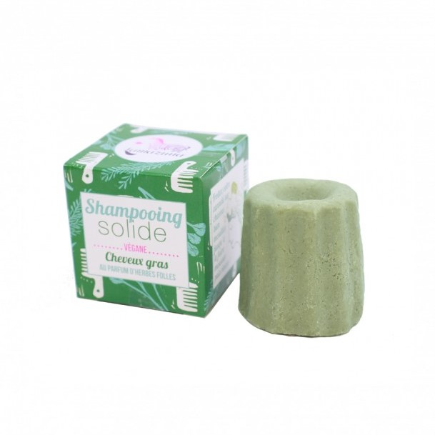 LAMAZUNA Solid Wild Grass Shampoo for oily hair 55g