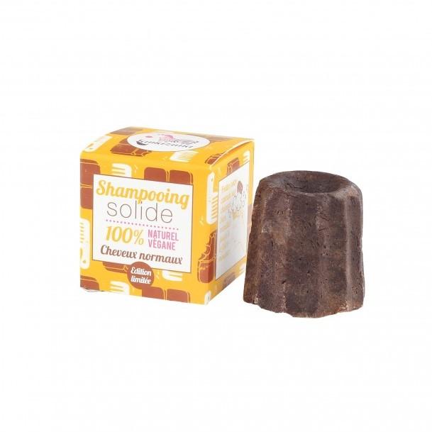 LAMAZUNA Solid Chocolate Shampoo for normal hair 55g