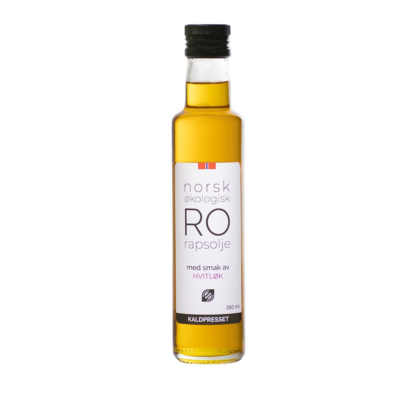 RO RAPSOLJE M/ HVITLØK 0,25 l