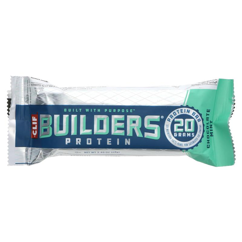 CLIF Builders Chocolate Mint 68g (20g Plant based protein)