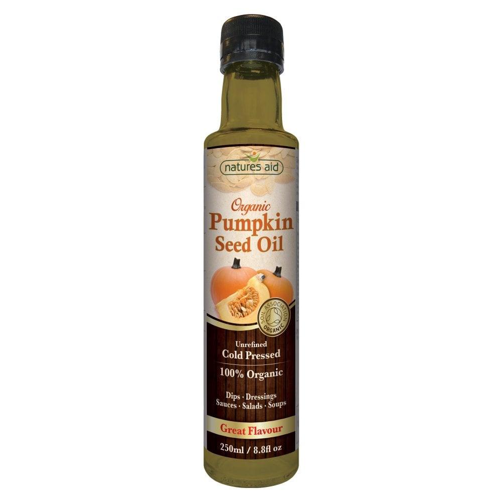 Natures Aid - Superfood Oils Pumpkin Seed Oil Organic - 250ml