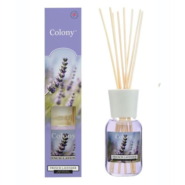Colony fresh Fransk Lavendel flaske med duftpinner 120 ml