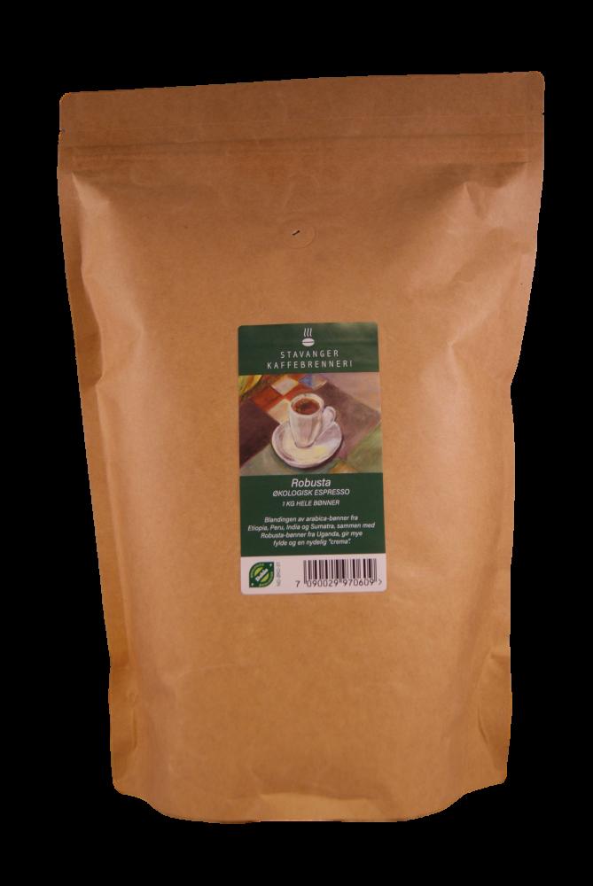 SK Økologisk Robusta espresso 1kg