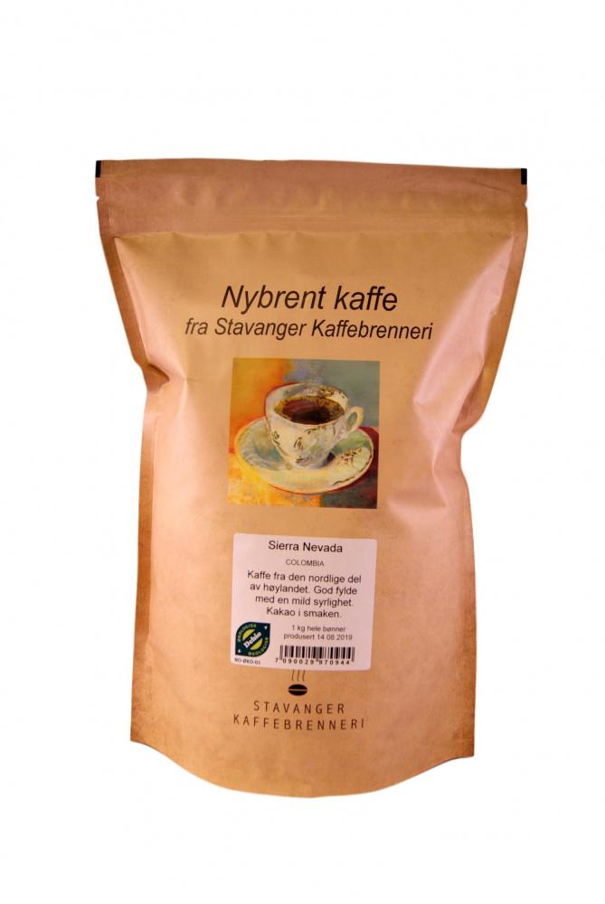 Colombia Sierra Nevada, 1kg kaffe økologisk